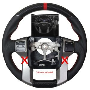 Revesol Sports Hydro Dip Carbon Steering Wheel For 2010 2020 Toyota Tundra Trd