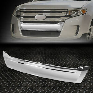 For 11 14 Ford Edge Oe Style Front Bumper Lower Chrome Grille Moulding Assembly