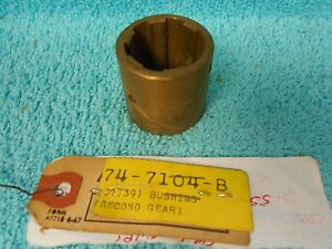 1937 1938 1939 Ford 3 Speed Transmission 2nd Gear Sleeve Bushing Nos 1116