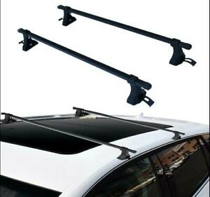 New 54 Steel Universal Roof Top Rack Cross Bars Luggage Carrier Mount Suv Truck