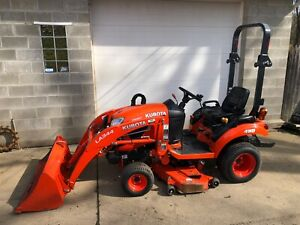 2016 Kubota Bx1870 Diesel Compact Tractor 4wd 54 Deck Clean Low Hour 69 Hrs