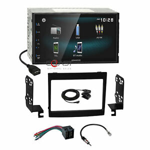 Kenwood Smartphone Android Mirror Stereo Dash Kit Harness For 04 06 Pontiac Gto
