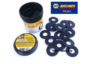 Napa Ncp 2 Battery Terminal Protectors Corrosion Preventative Cable Ring Cleaner