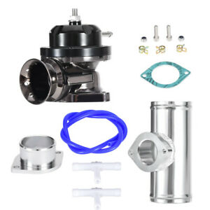Universal Billet Aluminum Type Rs Turbo Blow Off Valve Bov 2 5flange Pipe Black