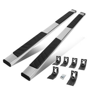 For 2009 2020 Dodge Ram 1500 Quad Cab Truck 5 Running Boards Side Step Nerf Bar