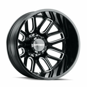 Mayhem Cogent Dually Wheels With 35x12 50 20 Tires Ford Dodge Ram Gmc And Chevy