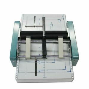 Manual A3 Paper Booklet Riding Stapler Booklet Binding And Folding Machine