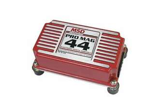Msd Ignition Electronic Points Box Pro Mag 44 Amp 8145msd