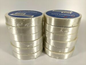 12 Rolls 3m Filament Strapping Tape 1 X 60 Yd Glass reinforced Heavy duty 6 Mil