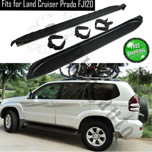 Fits For Toyota Land Cruiser Prado Fj120 2003 2009 Side Bars Protect Side Pedals