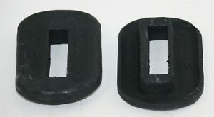New 1941 Willys Americar Front Bumper Arm Grommets
