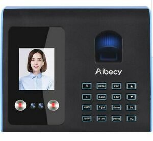 Aibecy E6 Facetime Attendance Time Clock face fingerprint password