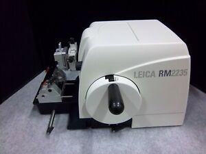 Remanufactured Leica 2235 Rotary Microtome With Disposable Blade Holder