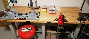 Lee Classic Cast Single Stage Reloading Press And All the Fixins.