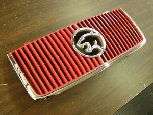 Nos Oem 1987 1988 Ford Mercury Cougar Grille Red