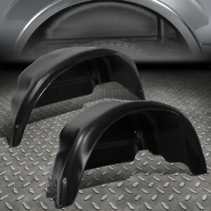 For 15 19 Ford F150 Pair Rear Wheel Well Guard Covers Inner Fender Mud Flaps