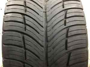 Used P245 40r19 94 W 7 32nds Bfgoodrich G force Comp 2 A s
