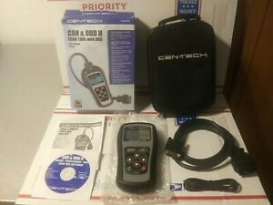 Cen Tech Obd Ii Can Scan Tool With Abs Item 60794 Excellent Condition