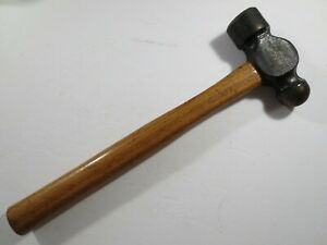 Matco Tools 40 Oz Ball Peen Hammer Excellent Condition Vintage Wooden Handle