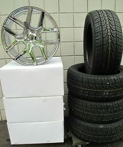 22 New Ram 2019 6 Lug Chrome Wheels 285 45 22 Nexen Tires 2684