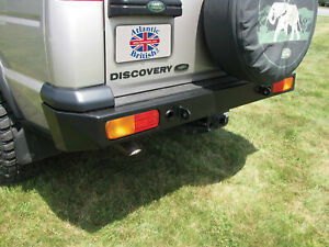 Land Rover Heavy Duty Rear Steel Bumper For Discovery 2 1999 2004