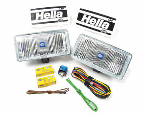 Fog Light Kit Hella 74506 Clear 550 Series Fits All Land Rovers