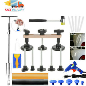 Car Body Paint Dent Removal And Repair Tool T Rod Slide Hammer Bridge Puller Kit