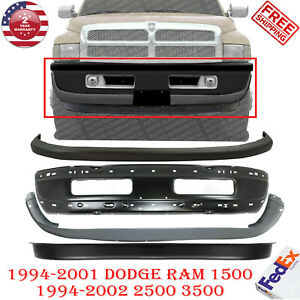 Front Bumper Primed Steel Kit For 1994 1995 Dodge Ram 1500 2500 3500
