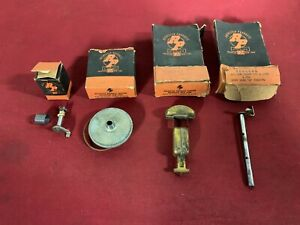Nos 1949 Oldsmobile Rodchester Carburetor Lot Choke Shaft Float 49