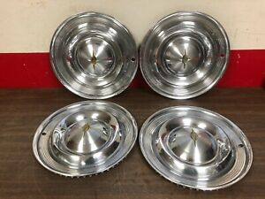 1957 Oldsmobile 98 88 Hub Caps Wheel Covers Set Of 4 320