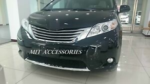 For Toyota Sienna 2011 2017 Front Lower Grill Chrome Garnish Trim Molding Cover