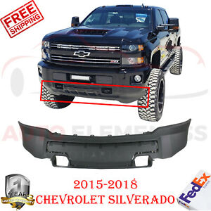 Front Lower Valance Textured For 2015 2018 Chevrolet Silverado 2500hd 3500hd