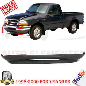 Front Lower Valance Textured Styleside For 1998 2000 Ford Ranger 2wd
