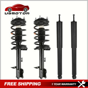 Set 4 Front Rear Complete Strut Shock Absorbers For Ford Escape Mercury Mariner
