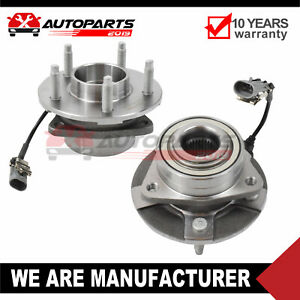 2x Front Wheel Hub Bearing Assembly For Chevy Equinox Pontiac Torrent Vue W Abs