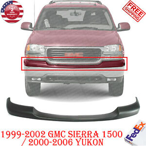 Front Bumper Upper Cover Primed For 1999 2002 Gmc Sierra 1500 00 2006 Yukon