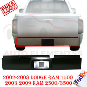Rear Roll Pan Primed Steel For 02 08 Dodge Ram 1500 2003 2009 Ram 2500 3500