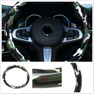 Universal Car Grip Cover Steering Wheel Cover New Car Supplies Fit Camouflage Fm