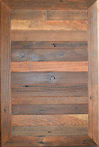 Reclaimed Barn Wood Table Top 24 x36 Urban Rustic Shabby Chic Modern Nyc Cafe