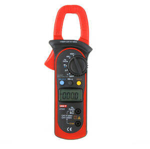 Ut203 Digital Voltmeter Ammeter Ohmmeter Clamp Meter Frequency Tester New J5k5