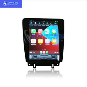 12 1 Android 9 0 Tesla Vertical Screen Gps Radio 32g For Ford Mustang 2010 2014