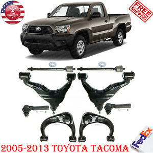 Front Upper Lower Lh Rh Control Arm For 2005 13 Toyota Tacoma 4wd