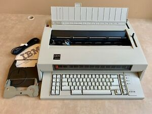 Refurbished Ibm Lexmark Wheelwriter 6 Typewriter 31k Storage Wide Carriage