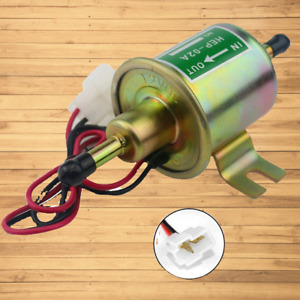 Inline Fuel Pump Electric Most Lawn Mowers Small Diesel Engines Gas Universal