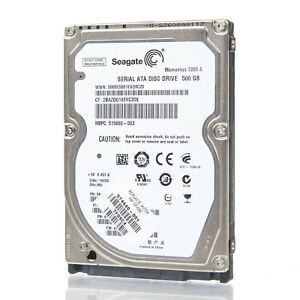 Assorted Brands 2.5quot; 500GB SATA Laptop HDD Hard Drive Tested amp; Wiped $13.99