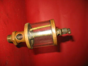 Penberthy Brass Oiler Old Hit Miss Gas Engine