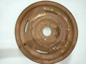 Jeep Willys Cj2a Cj3a Dj3a Cj5 Cj6 Original Nos 4 Hole Wheel Rim