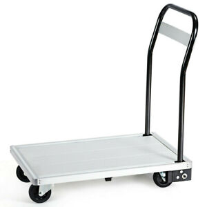 Folding Platform Cart Heavy Duty Home Or Commercial Aluminum Hand Truck Dolly