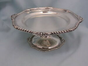 Antique 1815 1816 Sterling Compote Tazza By Paul Storr London With Royal Crest