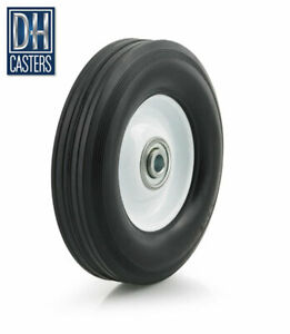 1 Dh Casters 7 X 1 1 2 Flat Free Wheel Tire Box Cart Dolly Hand Truck Table